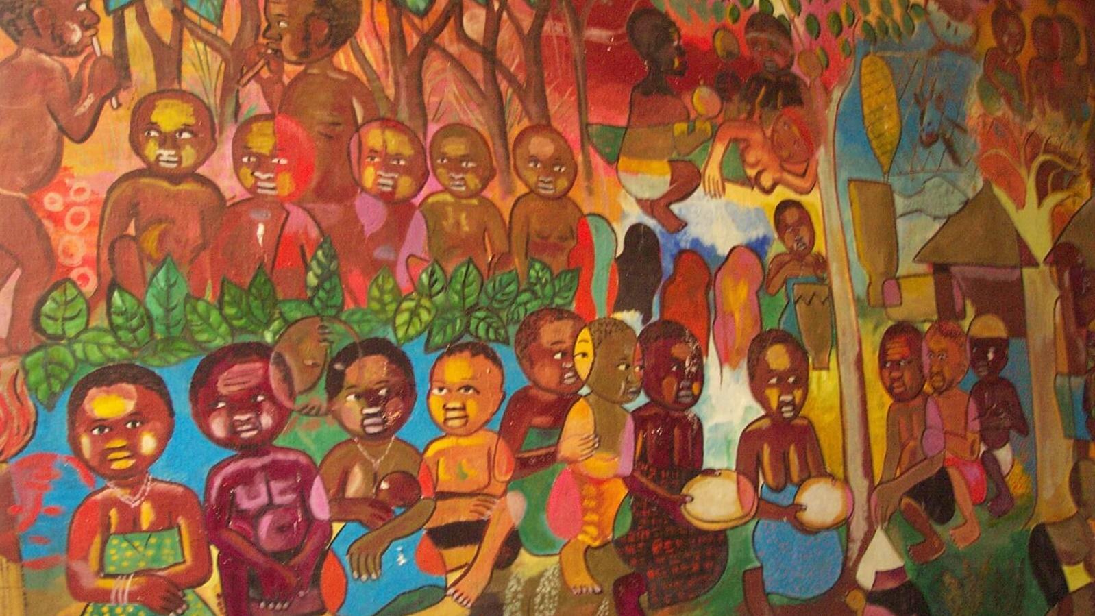 Centro de Investigação da Cultura Macua Xirima, arte Macua, pintura de Luis Prisciliano